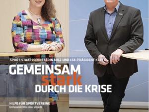 """Neue Ausgabe des LSB-Magazins """"Wir im Sport"""""""