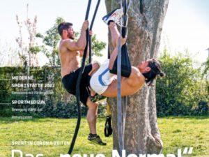 """Ausgabe 3/2020 des LSB-Magazins """"Wir im Sport"""""""