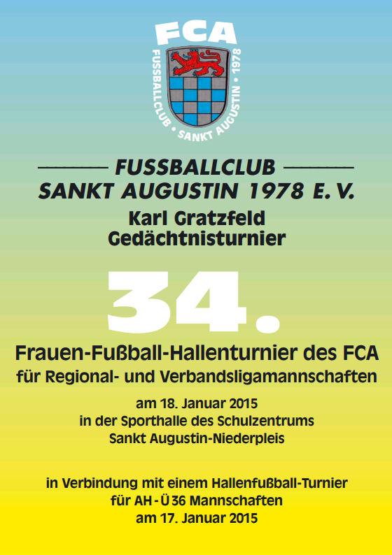 fca] 34. karl-gratzfeld-gedächtnisturnier - stadtsportverband, Einladung