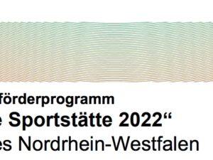 Sportstättenförderprogram
